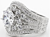 Vanna K ™ For Bella Luce ® 6.35ctw Platineve ™ Ring