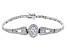 White Cubic Zirconia Platineve Bracelet 10.49ctw.