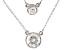 Cubic Zirconia Platineve Necklace 3.09ctw