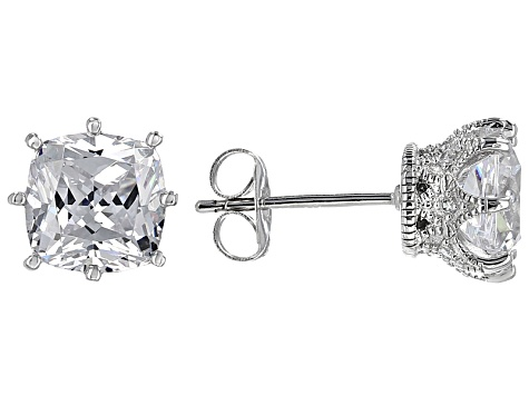 4be97fd4b013d Cubic Zirconia Platineve Earrings 4.57ctw
