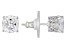 Cubic Zirconia Platineve Earrings 5.21ctw (3.96ctw DEW)