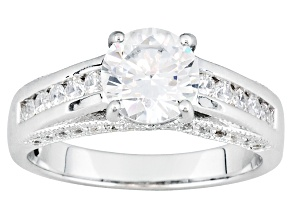 Womens Bella Luce Solitaire Engagement Ring Cubic Zirconia 3ctw Sterling Silver