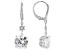 White Cubic Zirconia Platineve Earrings 8.50ctw