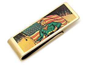 Vintage Patriotic Superman Money Clip