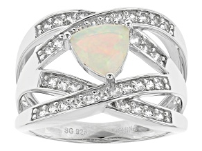Ethiopian Opal Sterling Silver Ring. 1.19ctw
