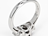 Gray Spinel Sterling Silver Ring 1.99ctw