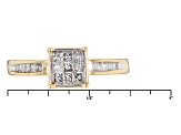 Diamond 14k Yellow Gold Ring .35ctw