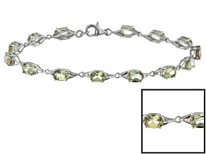 Color Change Zultanite® 10k White Gold Bracelet 5.60ctw