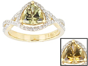 Color Change Zultanite® 14k Yellow Gold Ring 1.30ctw
