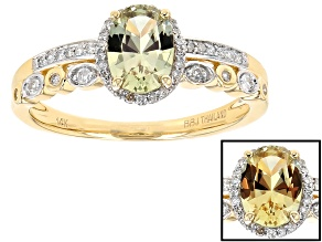 Yellow Zultanite 14k Yellow Gold Ring .82ctw