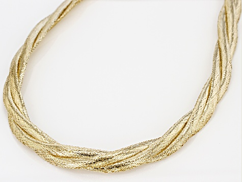 10k Yellow Gold Necklace 20 inch