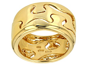10k Yellow Gold Puzzle Band Ring