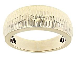 10k Yellow Gold Ring 7mm