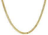 10K Yellow Gold 4.4MM Franco Chain 24 Inch Necklace