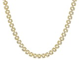 10K Yellow Gold 8.1MM Panther Link Chain 18 Inch Necklace