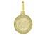 10K Yellow Gold Saint Francis Medal Pendant