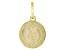 10K Yellow Gold Saint Thaddeus Medal Pendant