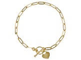 14K Yellow Gold 3.6MM Paperclip Link Bracelet