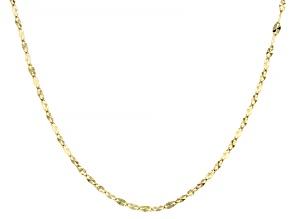 14K Yellow Gold 1.9MM Starburst Chain