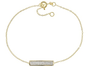 10K Yellow Gold Brilliamo™ Bar Bracelet