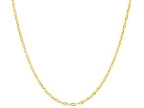 10K Yellow Gold Mariner Chain