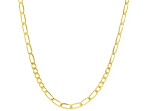10K Yellow Gold 2.3MM Diamond-Cut Curb Chain