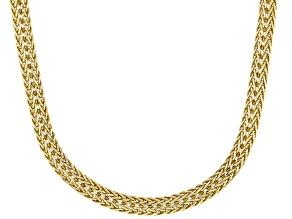 14K Yellow Gold Multi-Strand Spiga Chain