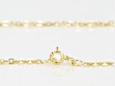 14k Yellow Gold Cable Chain Necklace 18 inch 2.0mm
