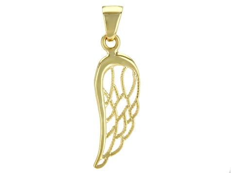 10k yellow gold angel wing pendant au199 jtv 10k yellow gold angel wing pendant aloadofball Choice Image