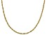 10K Yellow Gold 1.6MM Oval Rope 20 Inch Chain