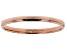 10k Rose Gold High Polished Band Ring