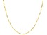 10k Yellow Gold 1.43mm Flat Cable 18 inch Chain Necklace