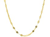 10k Yellow Gold Grand Mirror 20 inch Chain Necklace