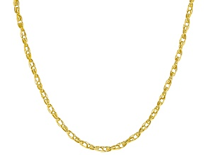 10k Yellow Gold 2.00mm Multi Cable 18 inch Chain Necklace