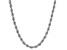 10k White Gold 2.05mm Silk Rope 18 Inch Chain