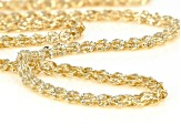 10K Yellow Gold 2.7MM Phoenix Fancy Design Chain Necklace 18 Inch