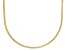 10K Yellow Gold 1.4MM Diamond Cut Wheat Chain Necklace 18 Inch