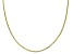 10K Yellow Gold 1.4MM Diamond Cut Snake Chain Necklace 20 Inch