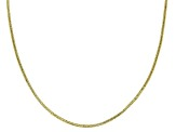 10K Yellow Gold 1.4MM Diamond Cut Rope Chain Necklace 20 Inch