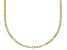 10K Yellow Gold 1MM Clover Chain Necklace 18 Inch
