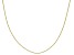 10K Yellow Gold .6MM Criss Cross Chain Necklace 20 Inch