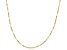 10K Yellow Gold 1.1MM Cable Chain Necklace 18 Inch