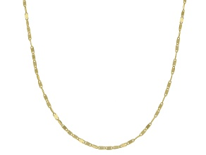 10K Yellow Gold .2MM Cable Chain Necklace 20 Inch