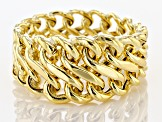 10K Yellow Gold Graduated Infinity Ring
