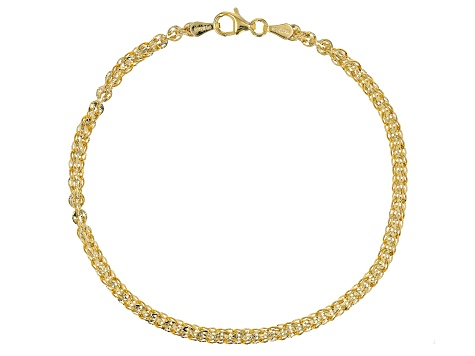 10K YELLOW GOLD PHOENIX FANCY DESIGNER BRACELET