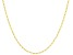 10K Yellow Gold Figaro Chain Necklace 20 Inch