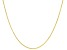 "10K Yellow Gold Diamond Cut 20"" Wheat Chain Necklace"