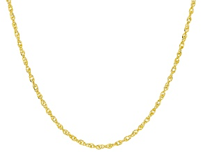 10K Yellow Gold Singapore Chain Necklace 20 Inch
