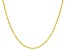 10K Yellow Gold Diamond-Cut 1.7MM Singapore Chain
