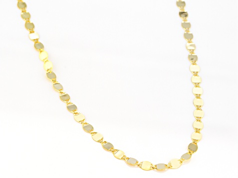 10k Yellow Gold Valentino 18 inch Necklace
